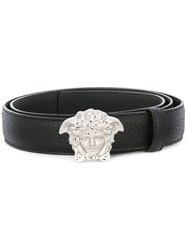 Versace Medusa Winger Belt Black