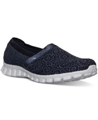 Skechers Women's Gowalk Make Believe Memory Foam Walking Sneakers From Finish Line Navy