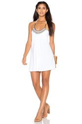 Sky Golla Dress White