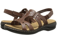 Clarks Leisa Annual Brown Leather Women's Sandals