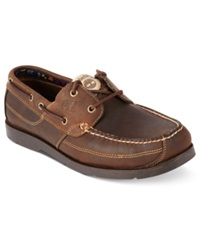 Timberland Earthkeepers Kia Wah Bay Boat Shoes Men's Shoes Taupe Distressed