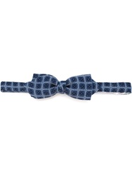 Tonello Knitted Bow Tie Blue