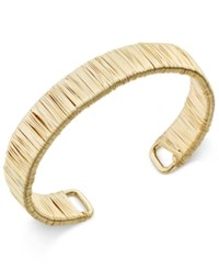 Inc International Concepts Gold Wire Wrapped Bracelet Only At Macy's