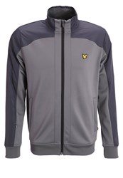 Lyle And Scott Grant Tracksuit Top Slate Grey