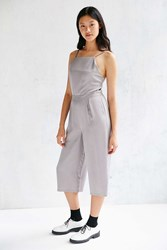 Native Youth Culotte Jumpsuit Grey