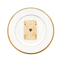 Melody Rose Playing Card Side Plate