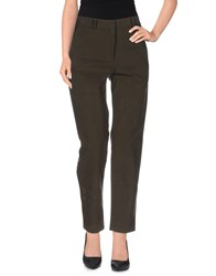 Suno Trousers Casual Trousers Women Military Green