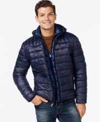 Tommy Hilfiger Hooded Packable Jacket Charcoal