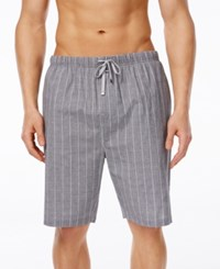 Michael Kors Men's Plaid Woven Pajama Shorts