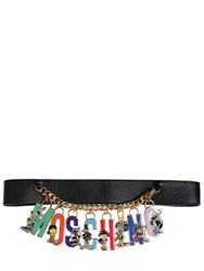 Moschino 50Mm Looney Tunes Logo High Waist Belt