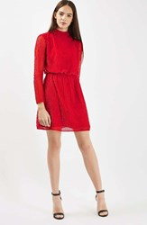 Topshop Women's Sequin Blouson Dress