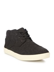 Toms Washed Canvas Lace Up Sneakers Brown