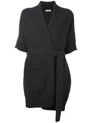 P.A.R.O.S.H. Belted Cardigan Grey