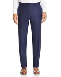 Jack Victor Loro Piana Stretch Flannel Classic Fit Trousers 100 Bloomingdale's Exclusive Navy
