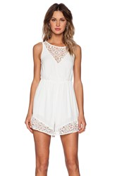 Ladakh Local Girl Romper White