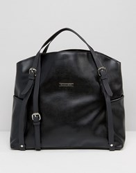 Silvian Heach Large Tote Bag With Detachable Strap Black