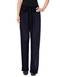 Lanvin Trousers Casual Trousers Women Dark Blue