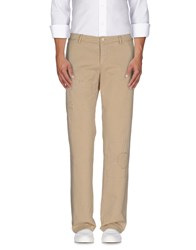 Gold Case By Rocco Fraioli Trousers Casual Trousers Men Sand