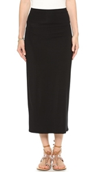 Rachel Pally High Waist Convertible Skirt Dress Black