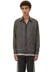 Fendi Printed Pyjama Shirt Grey