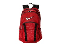 Nike Brasilia 7 Backpack Mesh Large Gym Red Black White Backpack Bags