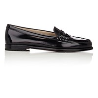 Church's Women's Kara Penny Loafers Black Blue Black Blue