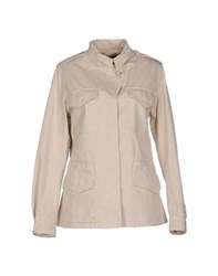 Blue Les Copains Coats And Jackets Jackets Women Ivory