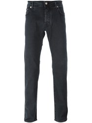 Jacob Cohen Tapered Trousers Black