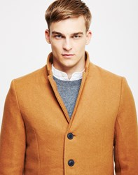 Only And Sons Julian Trench Coat Brown