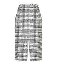 Escada Recall Distressed Skirt Female Grey