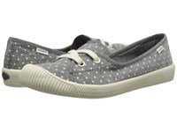 Palladium Flex Ballet Pd Gray Antique White Polka Dots Women's Shoes