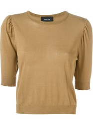 Simone Rocha Fine Knit Sweater Brown
