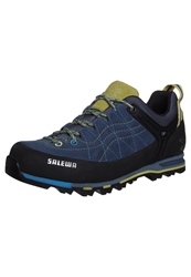 Salewa Mtn Trainer Walking Shoes Blue Jeans Citro Blue Grey