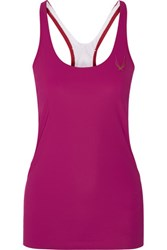 Lucas Hugh Paragon Stretch Tank Fuchsia