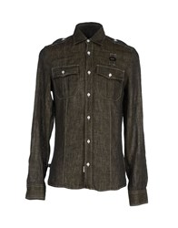 Blauer Shirts Shirts Men Steel Grey