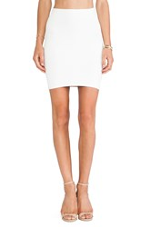 Bcbgmaxazria Mini Body Con Skirt White
