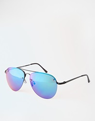 New Look Aviator Sunglasses Blue