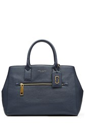 Marc Jacobs Gotham Ns Leather Tote Blue