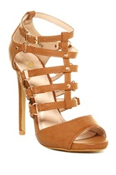 Modern Rush Mazie High Heel Sandal Brown