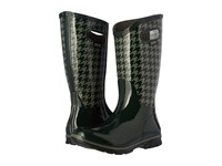 Bogs Berkley Houndstooth Waterproof Boot Dark Green Multi Women's Waterproof Boots