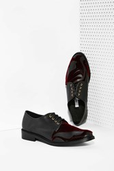 Nasty Gal Miista Zoe Leather Oxford