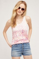 Anthropologie Caicos Tank Pink