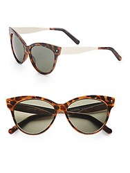 Minkpink 55Mm Cat's Eye Tortoise Sunglasses