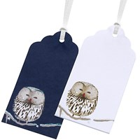 John Lewis Snowshill Owl Gift Tags Pack Of 4