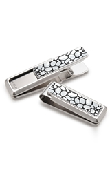 M Clip 'River Rock' Money Clip Stainless Steel Black