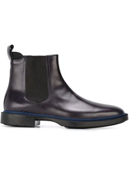 Kenzo Chelsea Boots Blue