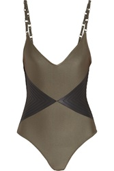 Shimmi Murphy Two Tone Swimsuit