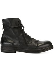 Marsell Marsa Ll Lace Up Boots Black