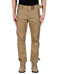 Dries Van Noten Casual Pants Camel