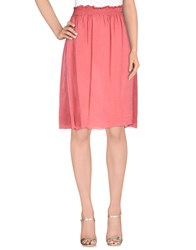 Almeria Skirts Knee Length Skirts Women Pastel Pink